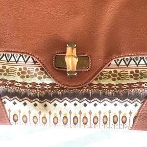 Bags - Boho Clutch Purse Vegan Friendly Faux Leather